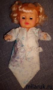 Одежда для куклы-пупса своими руками