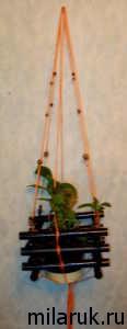кашпо, трубочки, идеи для рукоделия, своими руками,фольга