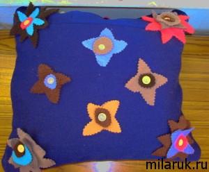 идеи оригинальных подарков,сделай сам,декор своими руками,декоративные подушки,поделки своими руками