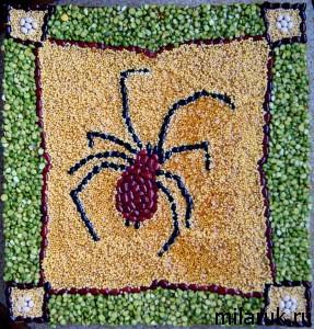 картины,паук,животные,своими руками, ручная авторская работа,хобби