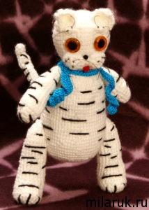кис,кот,поделки,игрушка,полосатый,ручная авторская работа