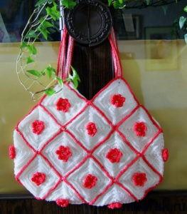вязание,сумка,летняя сумка,рукоделие,своими руками,авторская работа